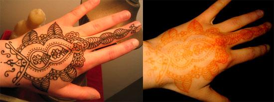 Are henna tattoos a health risk popsugar fitness for Henna tattoo process